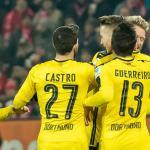 Dortmund, en partido de 2018 / twitter