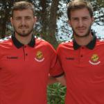 Dimitrievski y Kakabadze (Nàstic de Tarragona)
