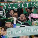 La afición bética, durante un partido (Real Betis)