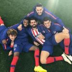 Griezmann, Lemar, Costa, Koke y Morata (Atlético de Madrid)