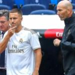 Zinedine Zidane sigue sin entender a Eden Hazard. FOTO: REAL MADRID