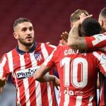 El Atlético de Madrid opta por revalidar el título de LaLiga. Foto: Getty
