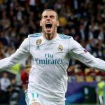 Bale celebra un gol con el Madrid (Reuters)