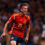 El AC Milan se interesa por el español Dani Olmo / Twitter