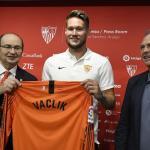 El Sevilla dispuesto a renovar ya a Vaclik / Sevillafc.es