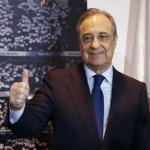 Florentino Pérez, presidente del Real Madrid / twitter.