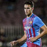 """Eric García no es central ni para el FC Barcelona ni para la Selección Española """"Foto: FCB"""""""