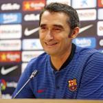 Ernesto Valverde durante una rueda de prensa / FC Barcelona