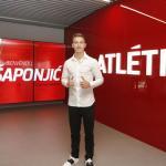 Fichaje sorpresa del Atlético / Atleticodemadrid.com