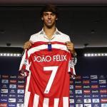 Joao Félix en su presentación con el Atlético. / diariodemexico.com
