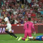 Joan Jordán, autor del gol de la victoria en Granada. Foto: SevillaFC