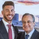 Florentino Pérez quiso echar a Sergio Ramos / ABC.es