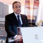 Florentino Pérez en un acto del club / Real Madrid