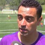 Xavi siempre se vio como entrenador / Europa Press