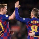 ¿Es posible ver la mejor versión de Arthur y Frenkie de Jong juntos? | FOTO: FC BARCELONA