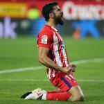 Diego Costa celebra un gol (Atlético de Madrid)