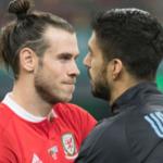 """""""Realidades paralelas entre Real Madrid y Barça con Bale y Luis Suárez. Foto: Getty Images"""""""