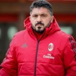 Gennaro Gattuso, con el Milan / Twitter