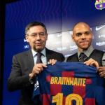 La esperpéntica gestión de Bartomeu con el fichaje de Braithwaite. Foto: Sport
