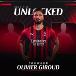 OFICIAL: Giroud, nuevo jugador del Milan - Foto: Twitter (acmilan)