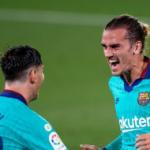 """""""Griezmann y Messi demuestran su compromiso con el Barça. Foto: Getty Images"""""""
