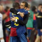 """¿Por qué Guardiola decidió contar un año más con Eto'o? """"Foto: La Vanguardia"""""""