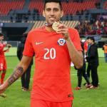 Guillermo Maripán con la selección de Chile. Foto: Adnradio.cl