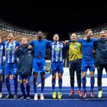 """""""El Hertha de Berlín busca hacerse grande en Alemania. Foto: AFP"""""""