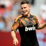 La tranquilidad de Gameiro ante la competencia en el Valencia / Twitter