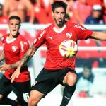 Pablo Pérez en un partido con Independiente. / ambito.com