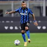 El futuro de Vidal en el Inter está en el aire. Foto: footballnews24.it