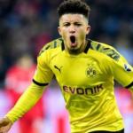 """El último baile de Jadon Sancho en el Borussia de Dortmund """"Foto: Express"""""""