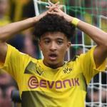 Jadon Sancho en un encuentro con el Borussia Dortmund. Foto: Youtube.com