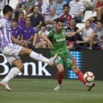 Jony y su educada zurda han causado buena impresión en La Liga / Diario de Alava