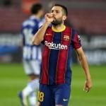 Jordi Alba tiene una oferta para dejar el Barcelona / FCBarcelona.es