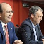 José Castro y Joaquín Caparrós. Foto: Sevillafc.es