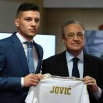"""Florentino sentencia a Jovic. Foto: Getty Images"""