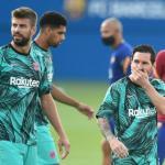 Tres futbolistas del Barça rechazan la denuncia a la rebaja salarial. Foto: okdiario.com