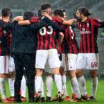 Jugadores del AC Milan. Foto: Youtube.com