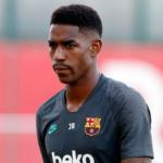 """La insólita lesión de Júnior Firpo """"Foto: FCB Noticias"""""""