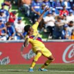 La tarde agridulce de Junior Firpo. FOTO: FC BARCELONA