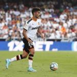 Ferran en un partido con el Valencia. / futbol-addict.com