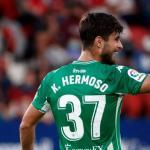 """El excelente debut de Kike Hermoso con el Real Betis que invita a la ilusión """"Foto: ABC de Sevilla"""""""