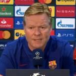 Koeman sorprende dejando fuera a Messi y De Jong / Rtve.es