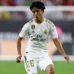 El Real Valladolid pregunta por la cesión de Takefusa Kubo / Real Madrid