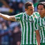 Diego Lainez brilla por fin en el Real Betis