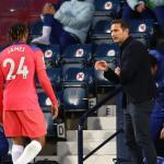 La dirección de campo de Lampard contra el WBA   Foto: Talksport