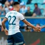 """La diferencia que impide la renovación de Lautaro Martínez """"Foto: TNT Sports"""""""