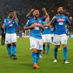 Lorenzo Insigne celebrando un gol con el Nápoles. Foto: Antena3.com