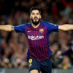 Luis Suárez en la cuerda floja. Foto: FC Barcelona